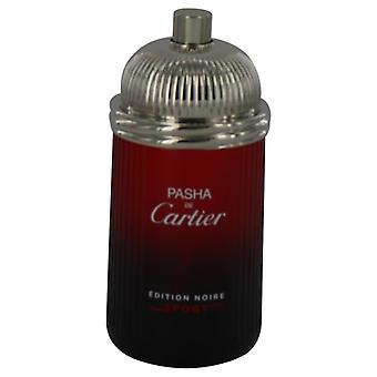 Pasha De Cartier Noire Sport Eau De Toilette Spray (Tester) By Cartier 3.3 oz Eau De Toilette Spray