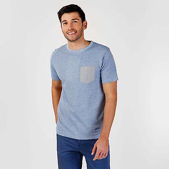 Camiseta makalu indigo
