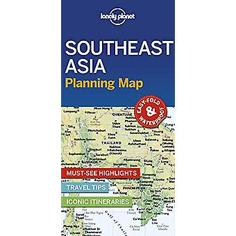 Lonely Planet Southeast Asia Planning Map by Lonely Planet - 97817886