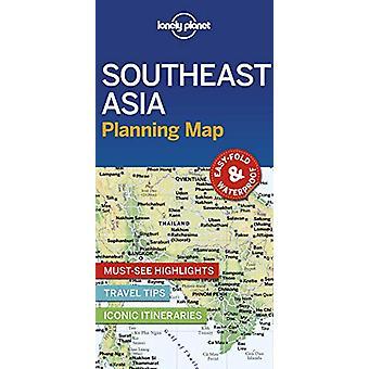 Lonely Planet Zuidoost-Azië Planning Kaart door Lonely Planet - 97817886