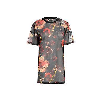 Everlast Patterned Mesh T-Shirt Ladies