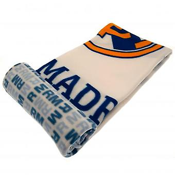 Real Madrid Fleece Blanket WT