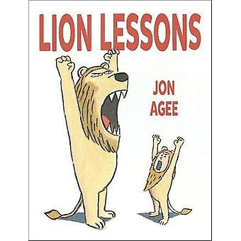 Lion Lessons by Jon Agee - 9781912650200 Book