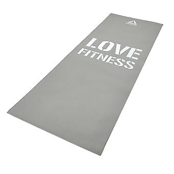 Reebok Love Fitness Mat Grey