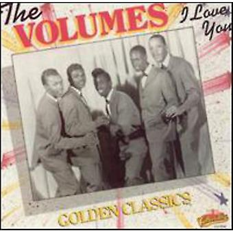 Volumes - I Love You-Golden Classics [CD] USA import