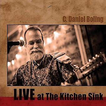 C. Daniel Boling - Live at the Kitchen Sink [CD] USA import