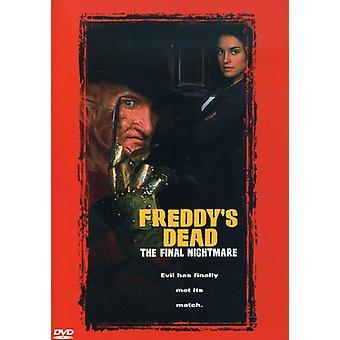 Freddy's Dead-Final mardröm [DVD] USA import