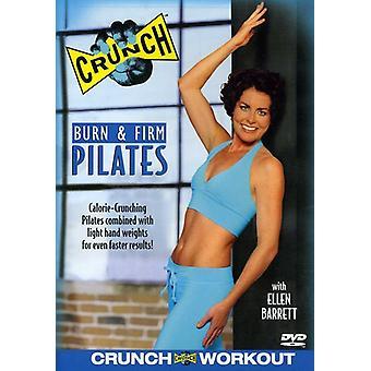 Crunch-Burn & firma Pilates [DVD] USA import