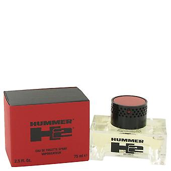 Hummer H2 de Hummer Eau De Toilette Spray 2.5 oz/75 ml (hommes)