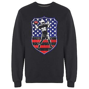 United States Football Player Sweatshirt Men's -Image par Shutterstock