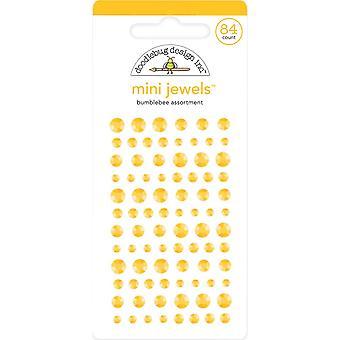Doodlebug Design Bumblebee Mini Jewels (84pcs) (6718)