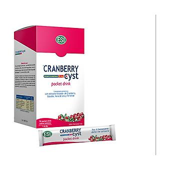 Cranberry cyst pocket drink 16 packets