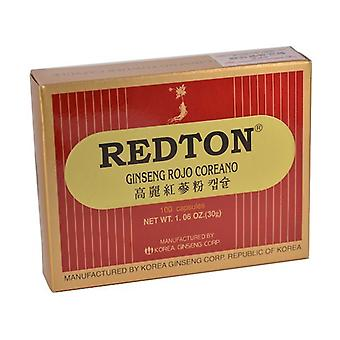 Redton Red Ginseng 100 capsules