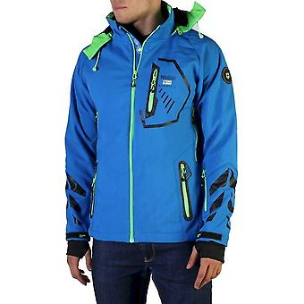 Geographical Norway - Clothing - Jackets - Tranco_man_blue-green - Men - royalblue,lime - L