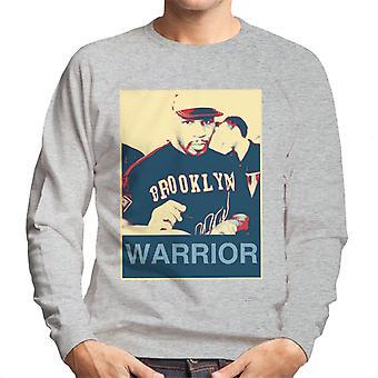 Mike Tyson Autogramme Brooklyn Krieger Poster Style Herren Sweatshirt