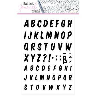 Aladine Bullet Journal Foam Timbres Alphabet 2