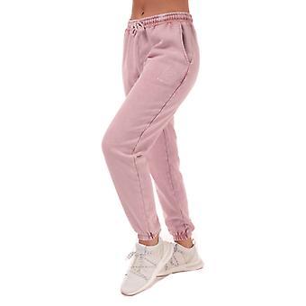 Women's Pink Soda Sport Wash Jog Pants in Pink