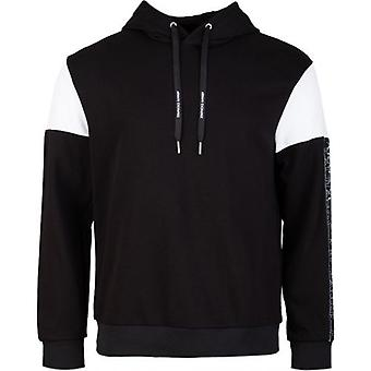 Armani Exchange Taped Pop Over Hooded Top