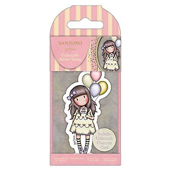 Gorjuss Collectable Mini Rubber Stamp No.73 I Wish…