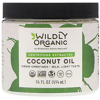 Wildly Organic, Centrifuge Extracted Coconut Oil, 14 fl oz (414 ml)