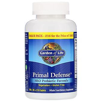 Garden of Life, Primal Defense, HSO Probiotic Formula, 216 Caplets