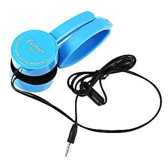 Udtrækkelig over-ear-hovedtelefon med stereobas i mikrofonen