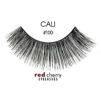 Red Cherry False Eyelashes - #100 Cali - Perfect Curl Handcrafted Lashes