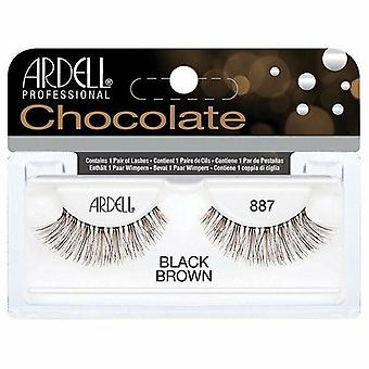 Ardell Chocolate Handmade False Eyelashes - 887 Lash Professional & Lightweight