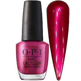 OPI Shine Bright 2020 Christmas Nail Polish Collection - Merry In Cranberry 15ml (HRM07)