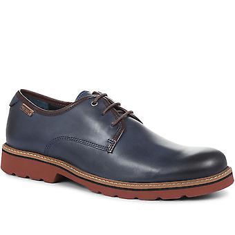 Pikolinos Mens Bilbao Casual Leather Derby Shoe