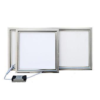 Integrated Ceiling Led Panel Lamp - Kitchen, Bathroom, Embedded Aluminum Gusset