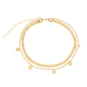 Fashion Multilayer Disc Necklace