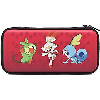 HORI Officially Licensed Hard Pouch (Pokemon Sword & Shield) For Nintendo Switch