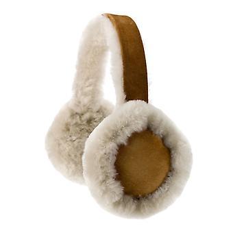 Nordvek Womens Fårskinn Hörselkåpor - Bekväma och varma öronvärmare # 506-100
