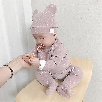 Baby Pajama Cotton Type Sleepers Cherry Print