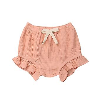 Toddler Infant Baby / Pantaloni solide-Pantaloni scurți Pp Bloomers Chilotei