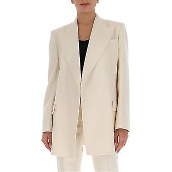 Givenchy Bw30ca13du100 Damen's Weiß Polyester Blazer