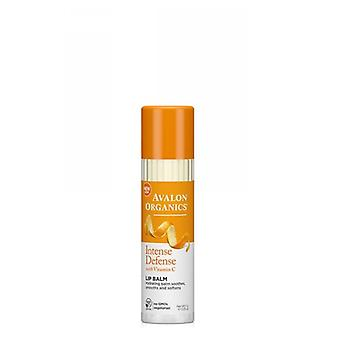 Avalon Organics Vitamin C Soothing Lip Balm, 0.25 Oz
