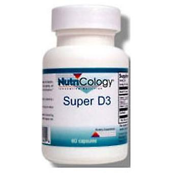 Nutricology/ Allergy Research Group Super D3, 60 Cap
