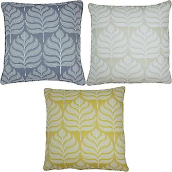 Paoletti Horto Leaf Cushion Cover