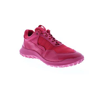 Camper CRCLR  Mens Pink Leather Lace Up Euro Sneakers Shoes