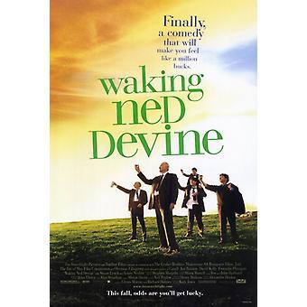 Waking Ned Devine Movie Poster Print (27 x 40)