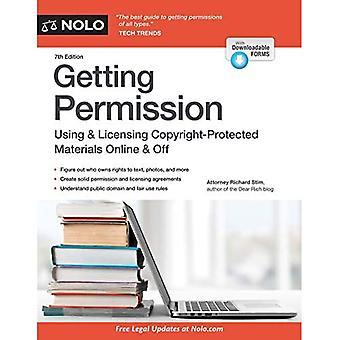 Het krijgen van toestemming: Hoe licentie & duidelijk auteursrechtelijk beschermd materiaal Online & uitschakelen