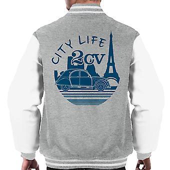 Citroen 2CV City Life Paris kevyille miesten varsity-takille