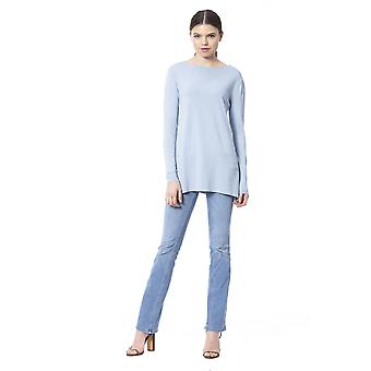 Sinilevä villapaita
