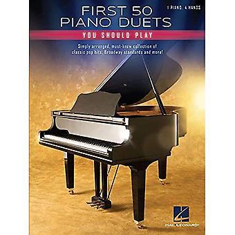 Eerste 50 piano duetten die je moet spelen