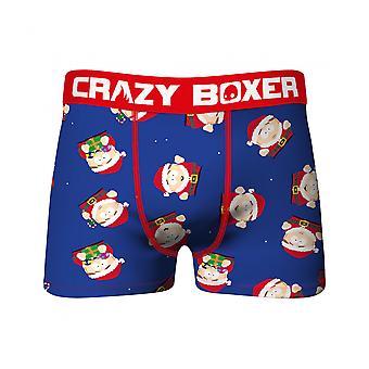South Park Cartman Santa All Over Print Men's Underwear Boxer Briefs