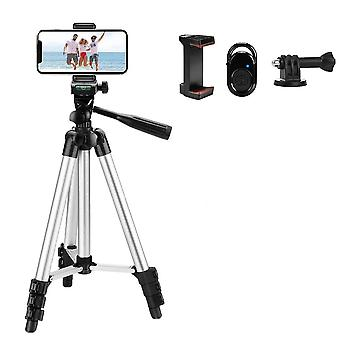 Tripod For Phone Holder With Remote Control For Mobile, Camera
