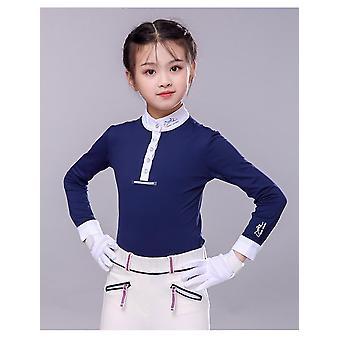 Children's Equestrian Long Sleeve T-shirt Paardrijkleding Zonnebrandcrème