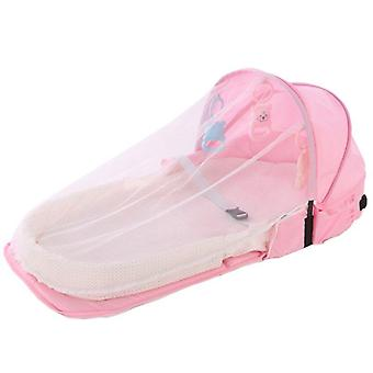 Portable Backpack Bed With For Baby, Foldable Travel Sun Protection